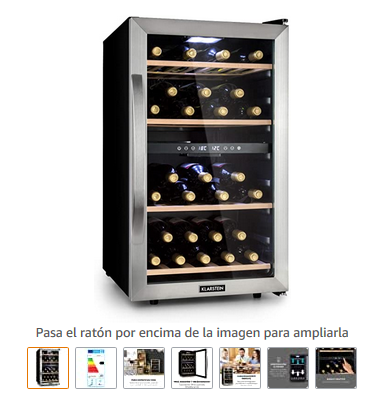 vinoteca nevera para vinos