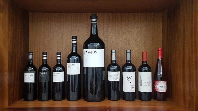 medidas botellas de vino