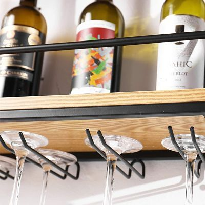 estanteria para botellas