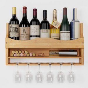 estanteria para vinos