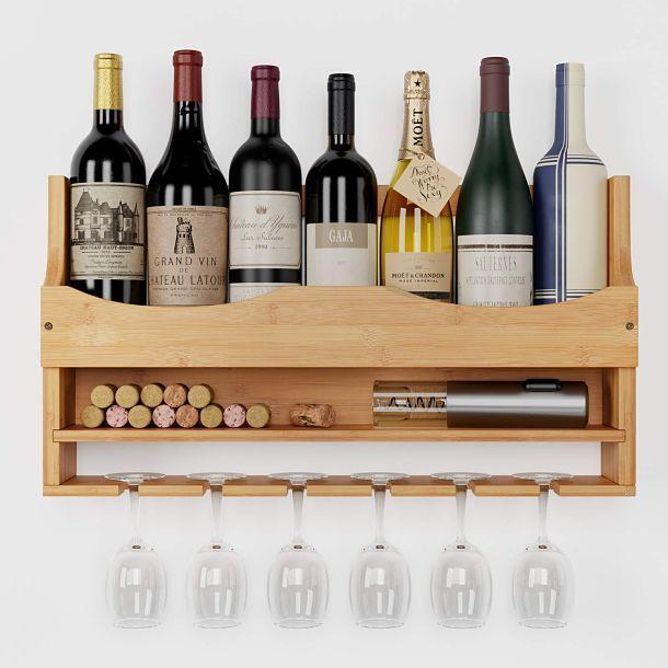 Mejores estanterías para botellas